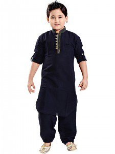 g3_exclusive_navy_solid_linen_festive_wear_pathani_suit_14674582431701_b