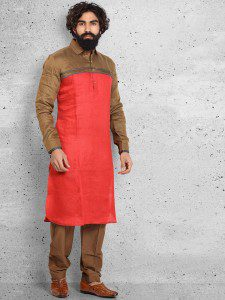 red_plain_linen_pathani_suit_1489233790p_6037_a_compressed
