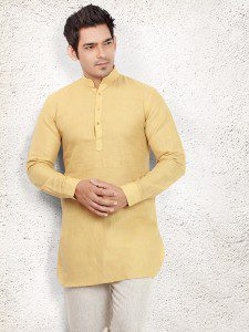 yellow_linen_plain_pathani_suit_1482985738f_1401_h_compressed